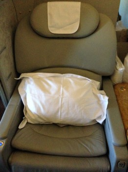 Emirates First Class 777 MXP-JFK38