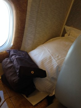 Emirates First Class 777 MXP-JFK57