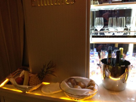 Emirates First Class 777 MXP-JFK75