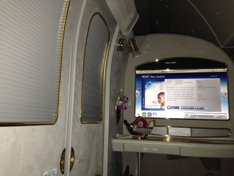 Emirates First Class 777 MXP-JFK82
