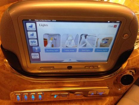 Emirates First Class DXB-MXP Dubai Milan 77720