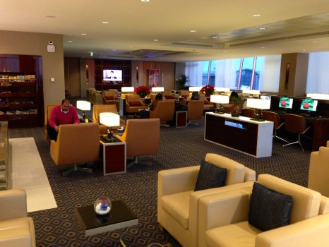 Emirates Lounge Milan MXP17
