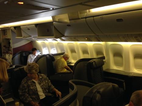 AA 777-300ER First Class Tokyo NRT DFW JFK17