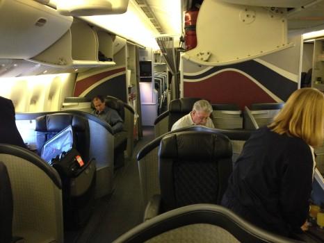 AA 777-300ER First Class Tokyo NRT DFW JFK18
