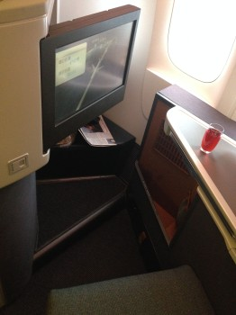 Cathay Pacific Business Class Trip Report04
