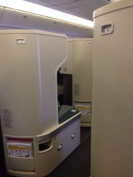 Cathay Pacific Business Class Trip Report08