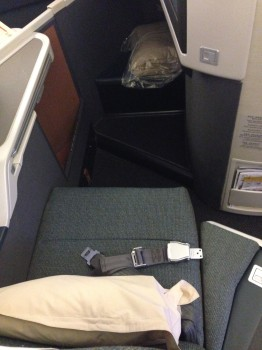 Cathay Pacific Business Class Trip Report11