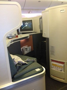 Cathay Pacific Business Class Trip Report19