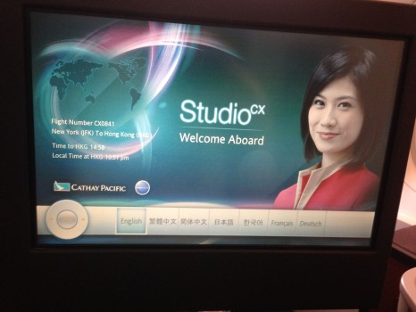 Cathay Pacific Business Class Trip Report23