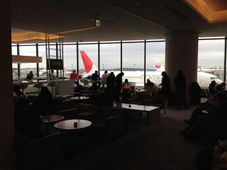 JAL Sakura Lounge Tokyo NRT28