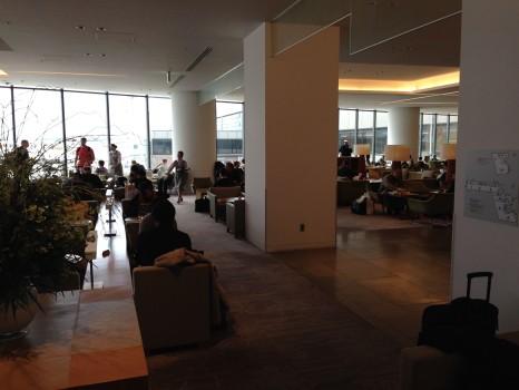 JAL Sakura Lounge Tokyo NRT43