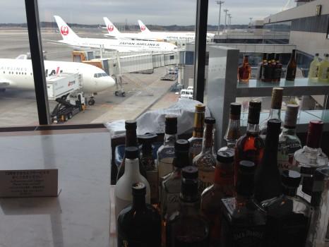 JAL Sakura Lounge Tokyo NRT79