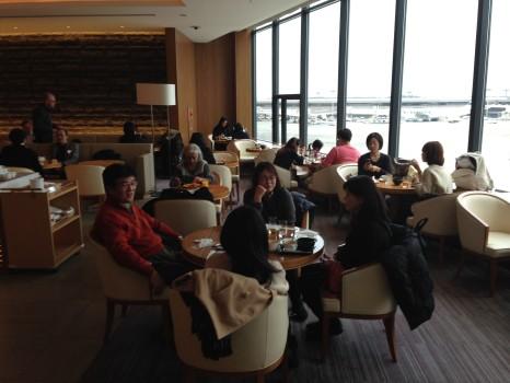 JAL Sakura Lounge Tokyo NRT82