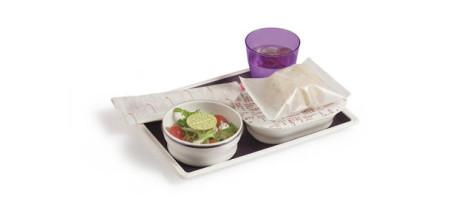 Virgin Atlantic New Meal Tray