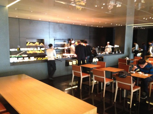 The Bridge Lounge Cathay Pacific HKG Hong Kong Trip Report42