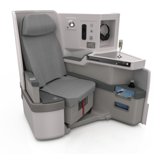 Finnair A350XWB Business Class seat