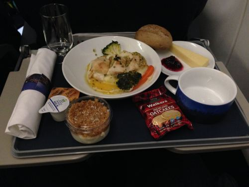 British Airways Club Europe (Business) LHR-NCE A319 09