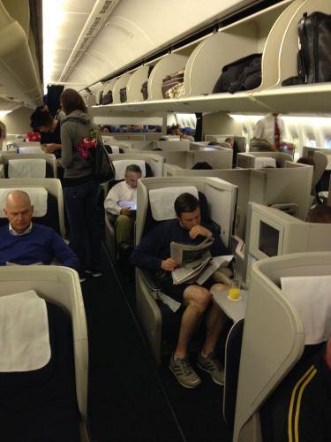 British Airways Flight Review 747-400 Club World03