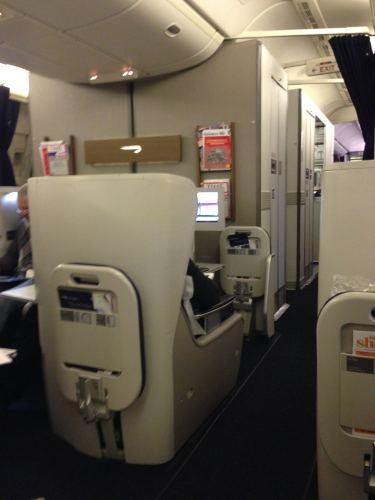 British Airways Flight Review 747-400 Club World12