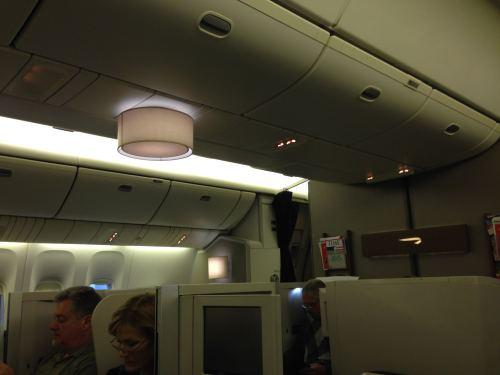 British Airways Flight Review 747-400 Club World13