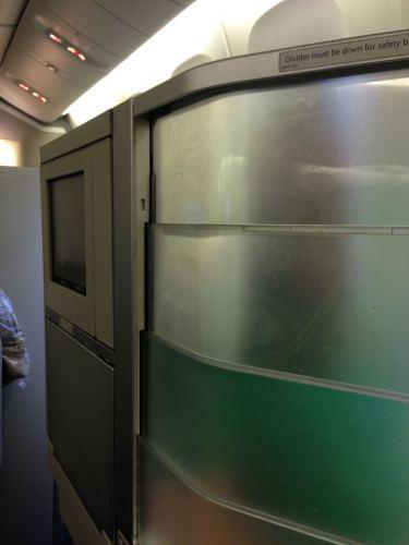 British Airways Flight Review 747-400 Club World19