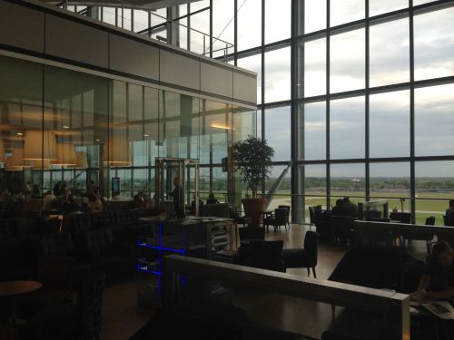 British Airways Galleries Club Lounge LHR Terminal 5A03