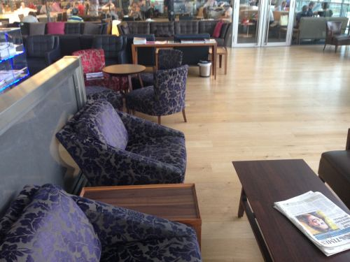 British Airways Galleries Club Lounge LHR Terminal 5A05