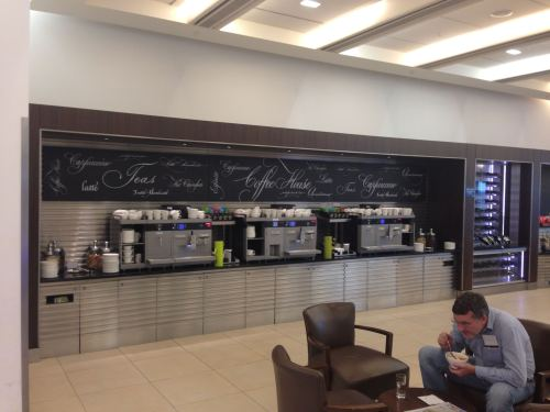 British Airways Galleries Club Lounge LHR Terminal 5A13
