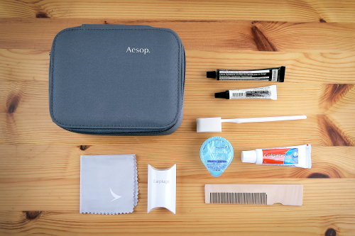 Cathay Pacific New First Class Amenity Kit
