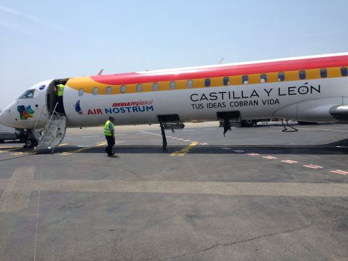 Iberia Air Nostrum NCE-MAD CRJ 100004