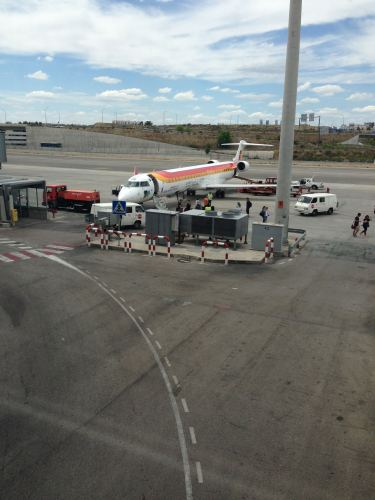 Iberia Air Nostrum NCE-MAD CRJ 100033