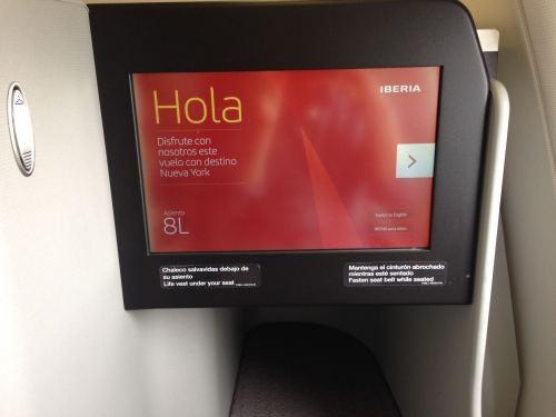 Iberia Flight Review A330-300 Business Class06