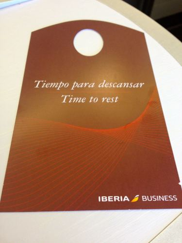 Iberia Flight Review A330-300 Business Class35
