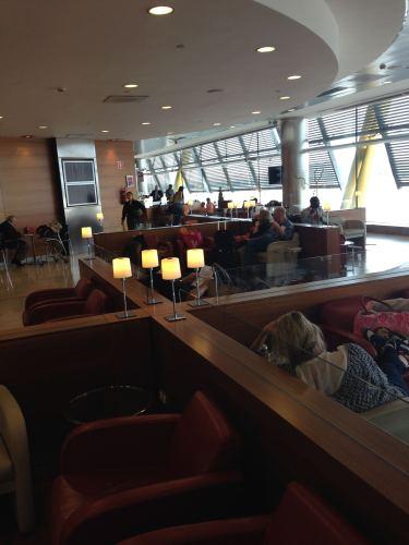 Iberia Velázquez VIP Lounge – Madrid Terminal 4S08