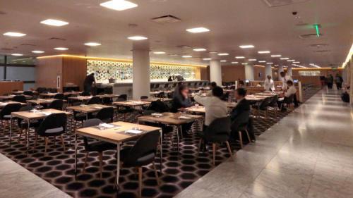 Qantas First Class LAX Lounge 1