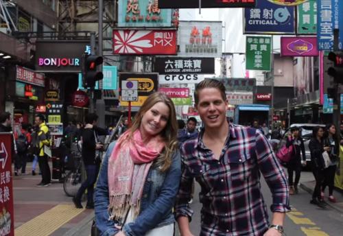 Jordan Axani and Elizabeth Gallagher Round the World Trip