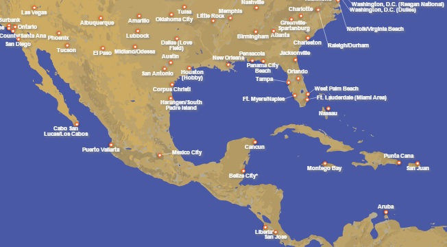 My Experience Booking Unpublished Southwest Fares – Southwest Airlines Travel Map