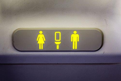In-Flight Bathroom