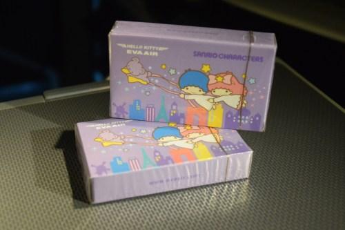 EVA Air Royal Laurel Class - Hello Kitty Playing Cards souvenir