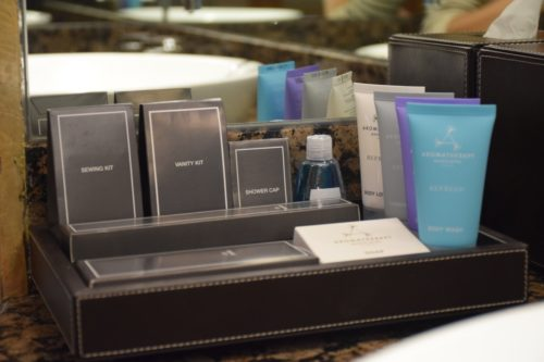 Conrad Bangkok Executive Corner King Room - Toiletries