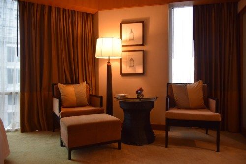 Conrad Bangkok Executive Corner King Room - Arm Chair