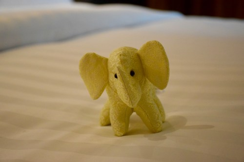 Conrad Bangkok Executive Corner King Room - Plush Elephant