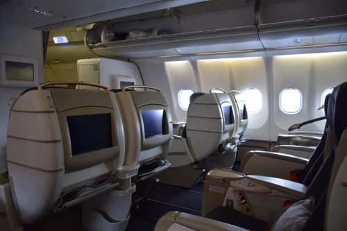 Turkish Airlines A330-200 Business Class Cabin