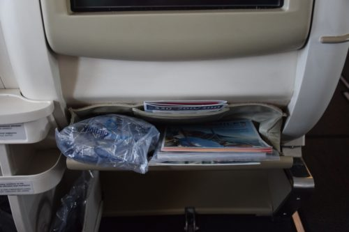 "Turkish Airlines ""Old"" Business Class - Magazine Pocket"