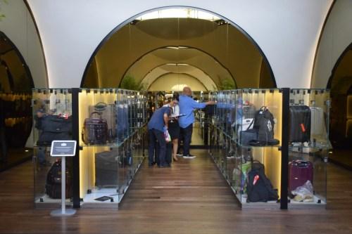 Turkish Airlines CIP Lounge - Lockers