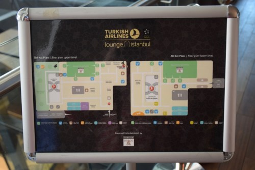 Turkish Airlines CIP Lounge - Directory