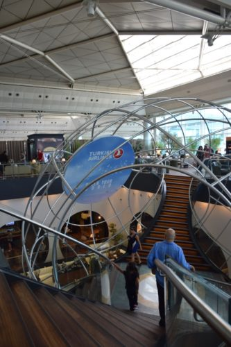 Turkish Airlines CIP Lounge - Atrium