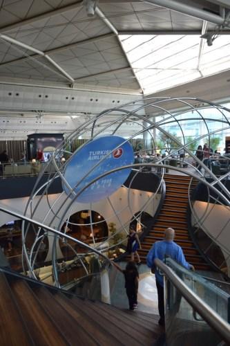 Turkish Airlines CIP Lounge - Atrium