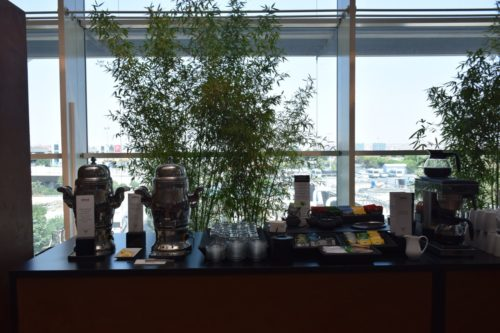 Turkish Airlines CIP Lounge - Coffee & Tea