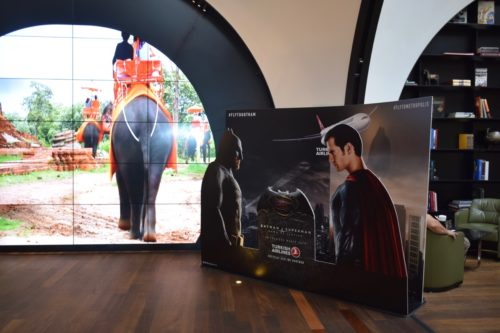 Turkish Airlines CIP Lounge - Batman vs. Superman